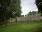 Medieval city wall at York