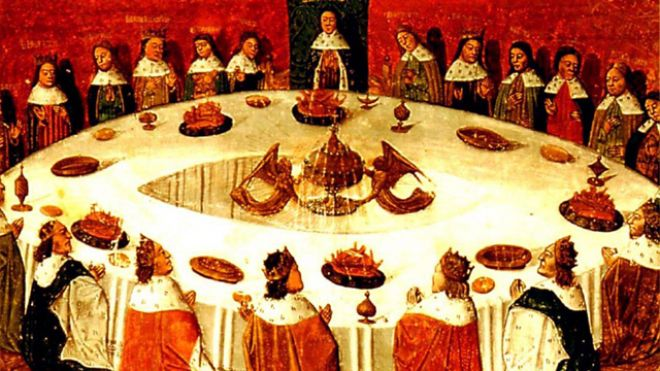 The table rounde at winchester a passionate geography - King arthur s round table found ...