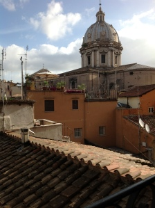 view from Rome Center